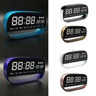 Digital Alarm Clock Touch Table Night Light Date Week Temperature Clock Perfect
