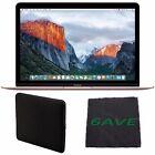 "Apple 12"" MacBook (Rose Gold) MMGM2LL/A + Padded Case For Macbook Bundle"