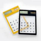 Transparent Solar Power Calculator Touch Clear Scientific Ultra slim Screen