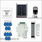 125KHZ RFID Card + Password Door Access Control System + Magnetic Lock + Remote