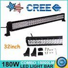 32Inch 180W LED Light Bar Flood Spot Work Lamp Offroad 4WD Truck SUV CAR Boat 33
