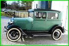 Ford Model A Frame Off Restoration 1929 Ford Model A All Steel, 2-Door Coupe, 4-cyl, 3-Speed Manual Trans, RWD