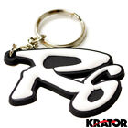 Yamaha R6 Soft Rubber Key Ring Keychain Non Scratch Motorcycle Safe YZF-R6 White