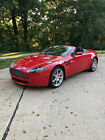 2007 Aston Martin Vantage Red Stitches on black leather 2007 Aston Martin Vantage Roadster Most Beautiful Condition