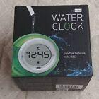 Bedol Water Clock Eco-Friendly Runs on Water, Green