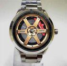 Volk Racing TE37SL Gold Sport Wheel Rim Accessories Watch