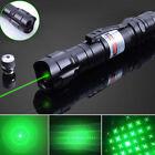 20Miles 532nm Green Laser Pointer Pen 2In1 Star Cap Belt Clip Lazer Visible Toy