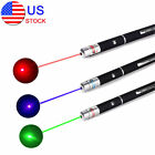 3PCS Xmas Gift Red + Green + Blue Purple Laser Pointer Pen Beam Light Lazer Toy