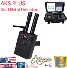 Gold Metal Detector AKS PLUS Scanning Finder For Gold Silver Copper Diamond USA