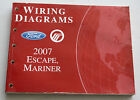 2007 Ford Service Wiring Diagram Manual Escape, Mariner