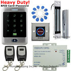 Waterproof 125KHz RFID Card Security Door Access Control System+Magnetic Lock
