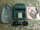 Royal Litton Digital I-K Electronic Calculator With Original Case
