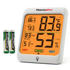 ThermoPro TP-53 Digital LCD Indoor Hygrometer Theremometer Room Humidity Meter