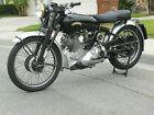 1951 Vincent Comet  1951 Vincent Comet Motorcycle (Original condition - not restored)