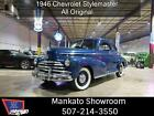 1946 Stylemaster -- 1946 chevy Stylemaster  76000 Miles blue   Manual