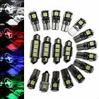 Ford Focus NA3 - Interior Lights Package Kit - 7 LED - blue white red pink -1522