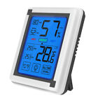 MagiDeal Big Touch Screen LCD Weather Station Humidity Temp. Meter Monitor