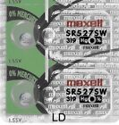 319 Maxell SR527SW (2 Piece) SR527 527 WATCH BATTERIES New Authorized Seller