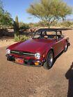 1976 Triumph TR-6  Triumph TR6 Overdrive with only 6950 miles  True Survivor