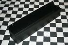 FLAT BLACK WALL MOUNT FLASHLIGHT mag tray snap 2 use hang on workbench closet