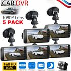 5 Packs 4 Inch 1080P Car DVR Dual Dash Camrea  Recorder Night Vision G-Sensor VI