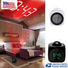 Multifunction LED  Digital Alarm Clock With Voice Talking Projection Temperature