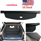 Retractable Rear Trunk Cargo Cover Black Shade for 2011-2018 Jeep Grand Cherokee
