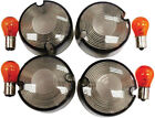 HARDDRIVE SMOKED TURN SIGNAL LENS Kit (DOMED) 161032 820-51051
