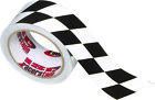 ISC Racers Tape Black RT5011 Angled Checker 2in X 45 10-0680