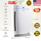 Air Purifier Cleaner HEPA Ionic Ionizer Sanitizer Home Office Smoke Dust Remover