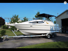 1999 bayliner 2655 30ft loa ciera cabin cruiser with galvanized dual axel trail