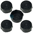 5 x Hub Caps Rim Cover 113,0 - 99,5 mm - Black