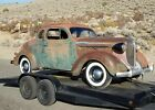 1938 Plymouth Coupe  1938 PLYMOUTH COUPE  (340 eng.  727 auto)