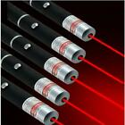 5PC Ultra Bright Red Laser Pointer Pen 650nm Pet Toy Visible Beam Xmas Lazer Pen