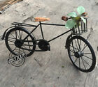 Halloween Unisex Black Wooden Seat Bicycle Vintage Decoration Christmas Gift (Ho