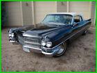 1963 Cadillac 62 Convertible  63 Model 62 Cadillac Convertible 390cid/325HP V8 4Speed Hydromantic Transmission
