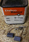 NOS Delco Remy 1958197 D-708 Generator Brushes Brush Set vintage car part