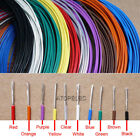 24AWG 1.1mm Teflon Wire Silver Plated OFC Copper Cable 300V FEP F46 Insulation