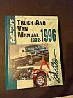 Chilton's 7918 Truck And Van Service and Repair Manual 1992-1996
