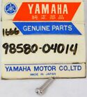 1 NEW Genuine Yamaha ATV Motorcycle Marine Pan Head Screw Part OEM 98580-04014