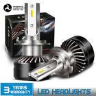 2X H7 LED Headlight Bulb Conversion Kit High Low Beam Fog Lamp 6000K White YZ14