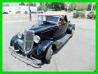 1934 Ford Roadster  1934 Ford Roadster Convertible Frame Off Restoration, Professional Upholstery,