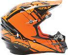 Fly Racing F2 HMK Helmet 73-4926XS XS Black/Orange
