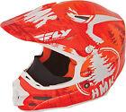 Fly Racing F2 Carbon Pro HMK Stamp Helmet 73-4924S Sm Orange