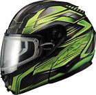 GMAX GM64S Modular Snow Carbide Helmet G2641223 TC-3 XS Black/Green