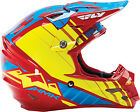 Fly Racing F2 HMK Helmet 73-4927S Sm Red/Blue/Yellow