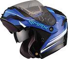 GMAX GM54 Terrain Snow Helmet G2546213 XS Black/Blue