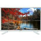 """Supersonic SC-2211-WH White AC/DC HDMI 1080p 22"""" LED Widescreen HDTV Television"""