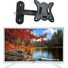 """Supersonic SC-2211WH White AC/DC HDMI 1080p 22"""" LED HDTV Television + Wall Mo..."""