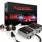 9004 HB1 55W Hi/Lo HID Kit Xenon light Halogen High + HID Low 6000K 5000K 8000K